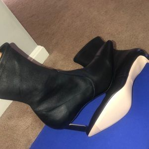 Stuart Weitzman Leather Bootie